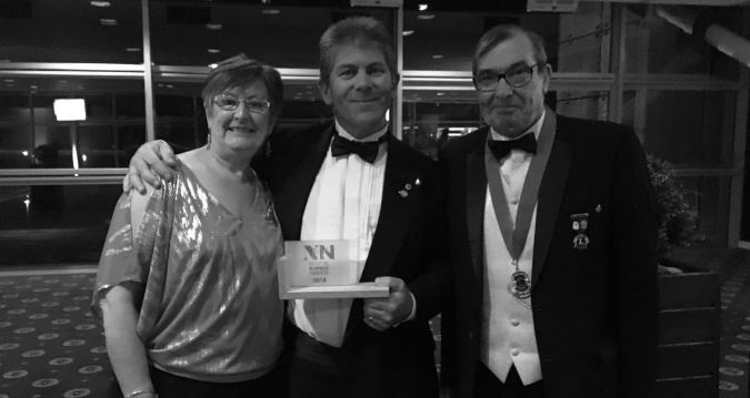 Judith, John and Peter with the NWN Award